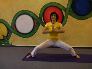Mondgruß - Yoga-Übung - mit Atemtechnik