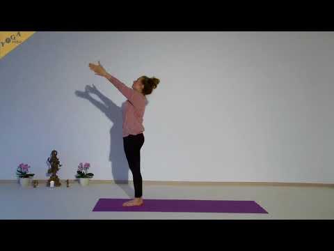 Kundalini Yoga Mittelstufe - langes Halten der Asanas - Pranayama ohne Bandhas - mit Sukadev + Julia