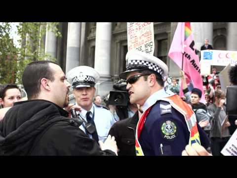 Gay Rights Rally - Adelaide, 2011