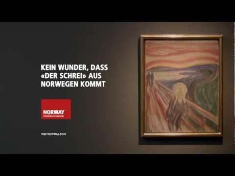 Der Schrei Aus Norwegen - Edvard Munch