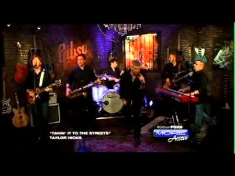 """FOX 5 Las Vegas Gibson Showroom: Taylor Hicks Performs """"Takin' It to the Streets"""""""