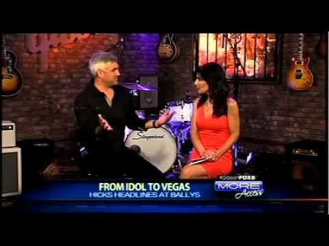 FOX 5 Las Vegas Gibson Showroom: Taylor Hicks Interview