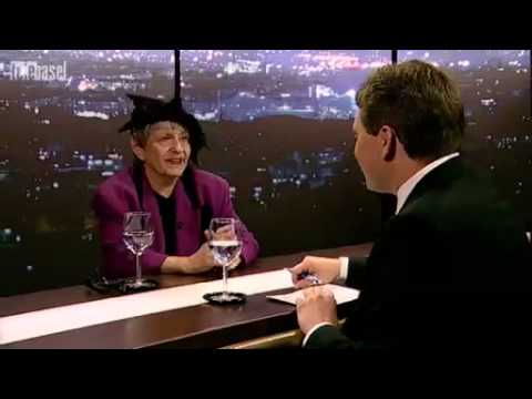 Ruth Kissling de Bâle Suisse im Telebasel - Telebar - LIVE
