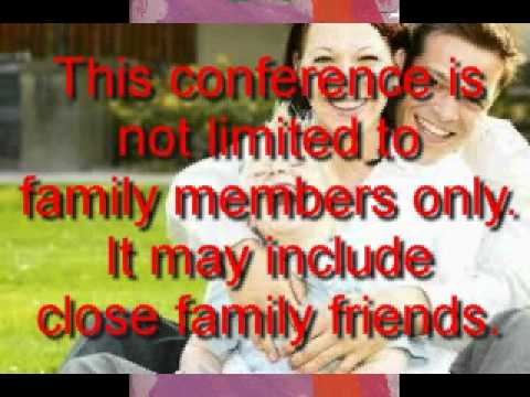 What is a family group conference.