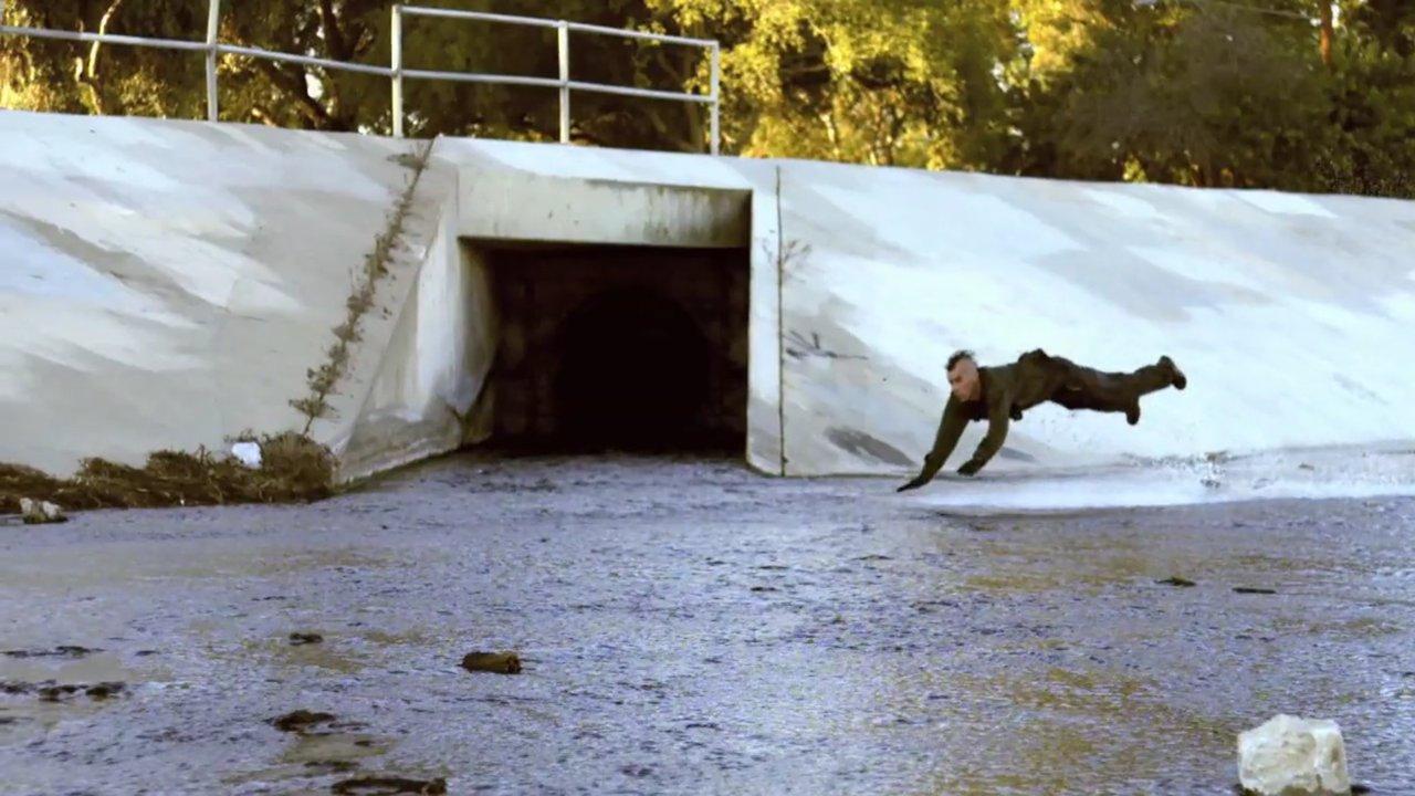 "SLAM VS. the Dickies 874 workpant - ""Sewer Surf"""