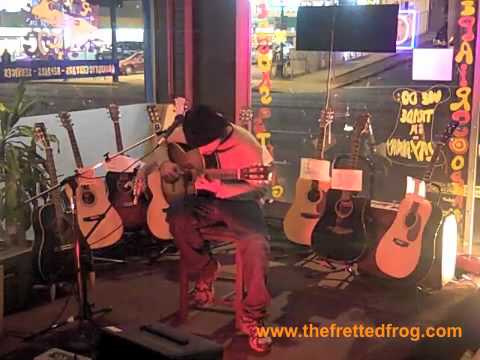 Paulo Diaz at the fretted frog in Echo Park