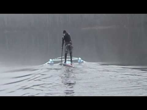 Flat Water SUP Max Speed Record