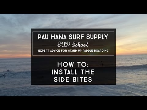 How To: Install Side Bite Fins On an SUP