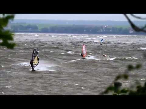 Windsurfing St Jean D'Orleans June 8th 2013