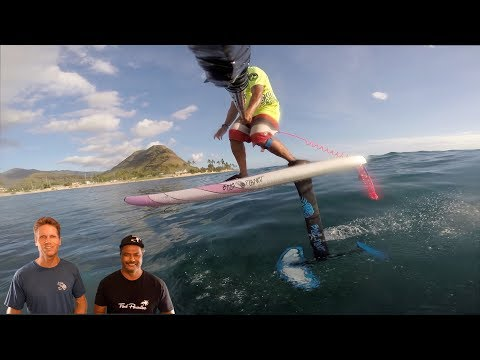 How to SUP Foil #2- Catching a Wave