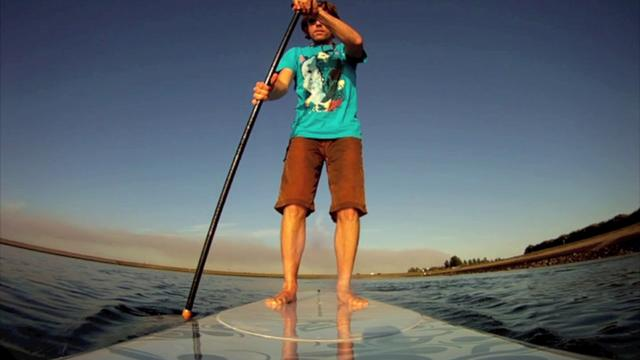 Flat water SUP session 25.05.2011