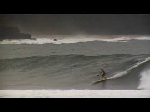 Laird Hamilton Big Surf Hanalei Bay - Charging Stand Up
