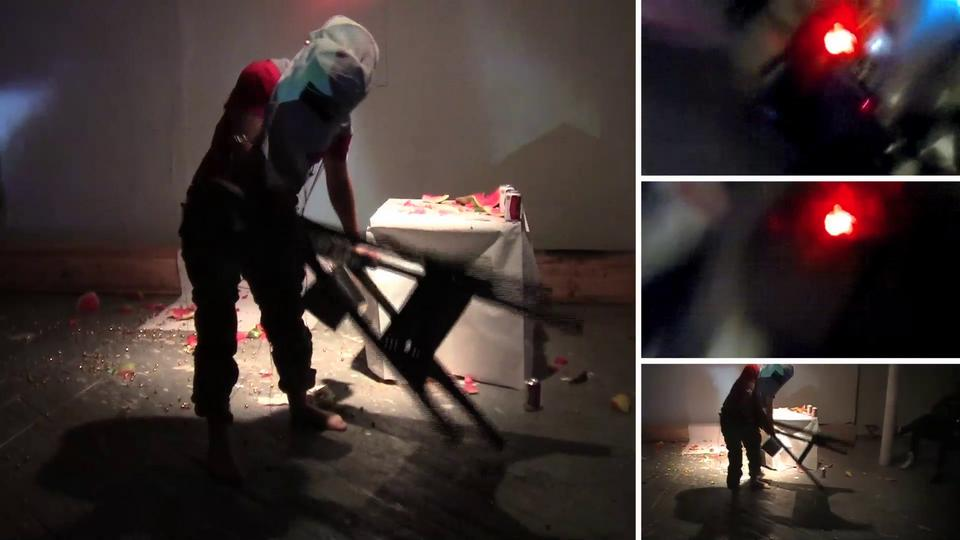 "Performance Effort @ Grace Exhibition Space (New York) • April 20th, 2012 [10"" version]"