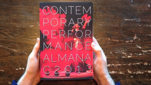 Contemporary Performance Almanac 2013 Flip Through