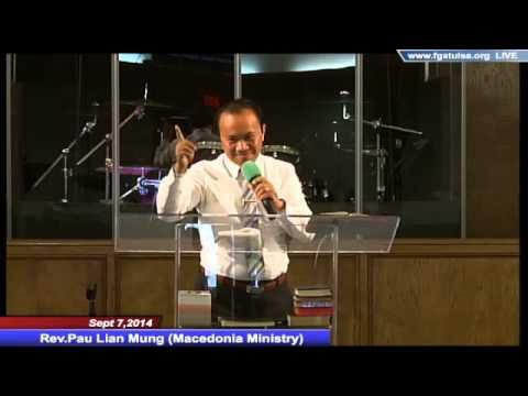 [FGATulsa]#1031#Sept 7,2014 Zomi Service (Rev.Pau Lian Mung)