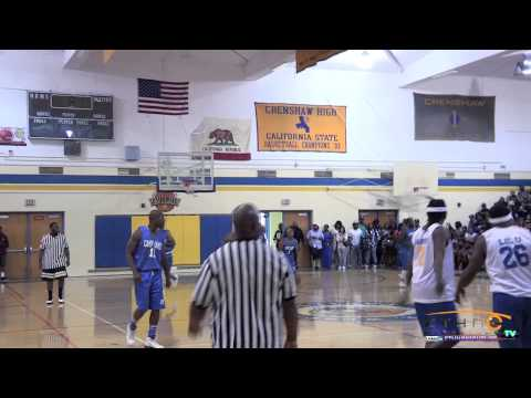 Trinidad James' Camp James Celebrity Basketball Game and Sneaker Drive at Crenshaw High School