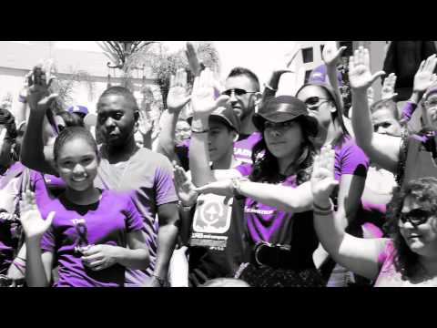 ::Team Ethno Cares:: World Lupus Day #LHandSign Lupus Flash Mob | Los Angeles May 10th, 2014