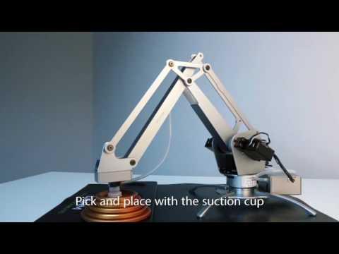 Presentación uArm Metal - Brazo robot de sobremesa con 4 dof
