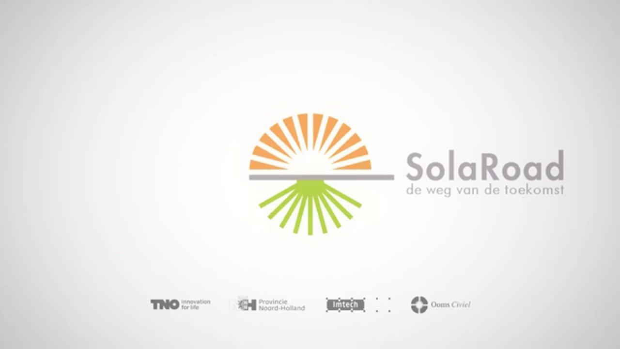 SolaRoad, de weg die zonlicht omzet in elektriciteit.