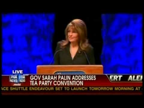 Sarah Palin Tea Party Address #1