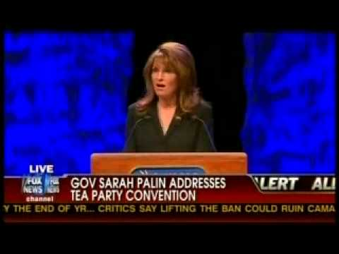 Sarah Palin Tea Party Address #2
