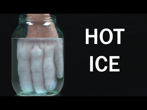 How to make Hot Ice at home