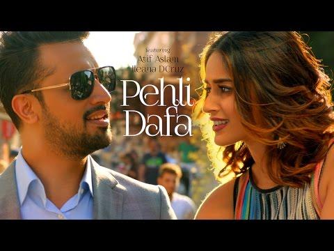 Atif Aslam: Pehli Dafa Song (Video) | Ileana D'Cruz -Song 2017 | T-Series