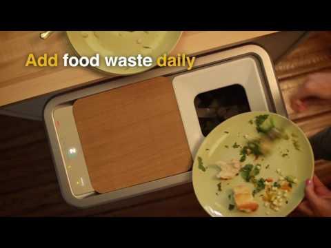 Bin turns food waste into fertilizer in 24 hours