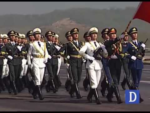 Chinese PLA Army in 23rd March 2017 Parade