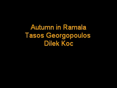 Autumn in Ramala