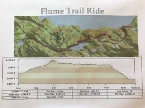 Flume Trail August 2018