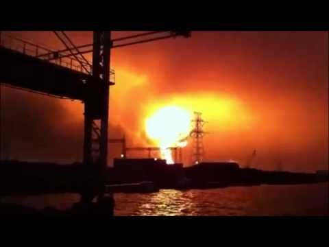 Shocking NEW video of previously unseen EXPLOTION at Japan! - HD
