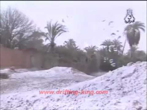 snow in sahara , snow in the desert