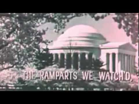 THEY LIVE Subliminal Messages in 60's TV National Anthem