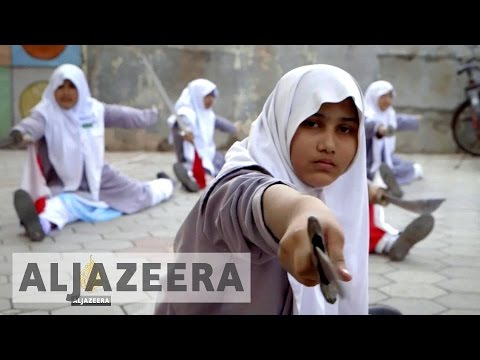 Witness: Muslim schoolgirl Fareeha dreams of becoming a martial arts champion