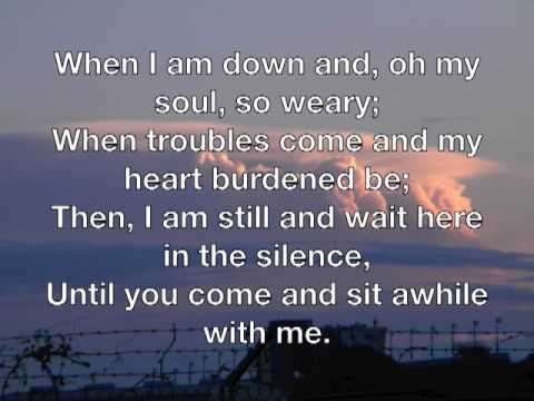 you raise me up - josh groban with lyrics