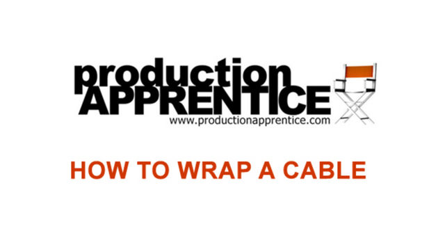 How to wrap a cable