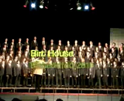 Inter-house Singing - Birt House