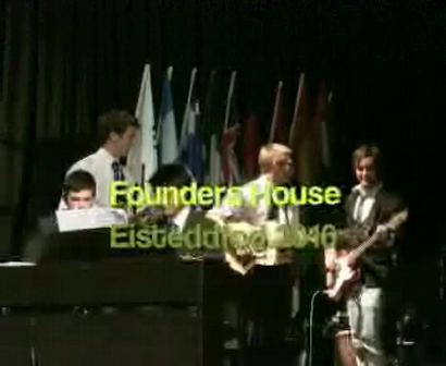 Inter-house Singing - Founders House