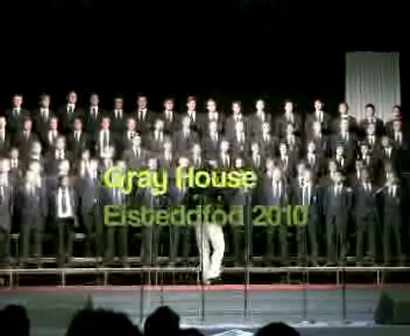 Inter-house Singing - Gray House