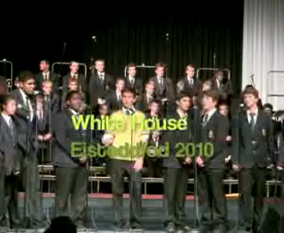Inter-house Singing - White House