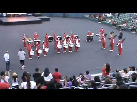 Centennial High School Apache Drum-Line Came In 2nd Place In The Drum-Line Competition!!