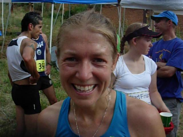 Brandy Erholtz, 2010 Barr Trail Mountain Race winner