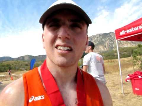 Xterra Marathon winner Andrew Catalano