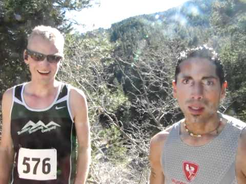 Couple of fast dudes, Kevin Morgan and Gerald Romero talk about Cañya Cañon