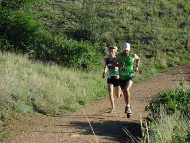Leaders of the pack - Summer Roundup Trail Run