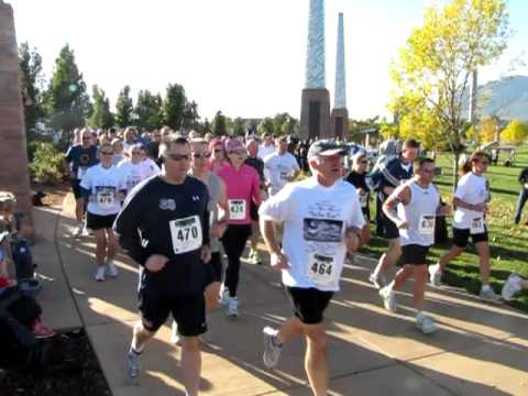 Start of the 2010 Peace Officers Memorial Valor Run