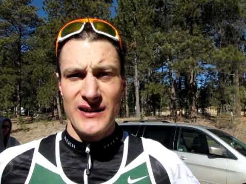 A talk with men's Winter Series short-course champ and pro triathlete Michael Weiss