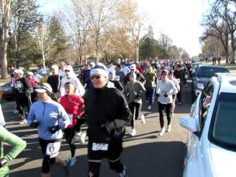 Start of the 2010 Rock Canyon Half Marathon