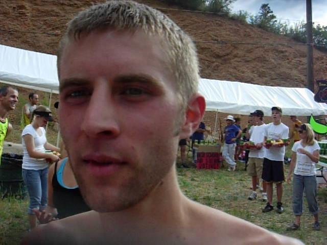 Ryan Hafer wins Barr Trail Mountain Race